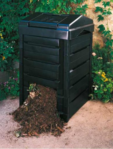 garden gourmet back yard composter made from recycled plastic gaiam