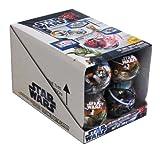 Star Wars Weihnachtsbaumkugel mit Sammelfigur und Zuckerstangen, 12er Pack (12x 20g)