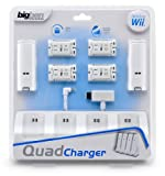"Wii - Charging Station ""Quad Charger"" (black & white sortiert)"