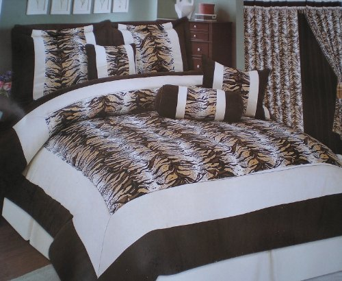 for sale high quality king size micro suede tiger skin print