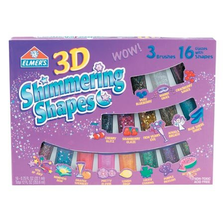 Shimmer N Shine Asst. Colors 16pk - Buy Shimmer N Shine Asst. Colors 16pk - Purchase Shimmer N Shine Asst. Colors 16pk (Elmer's, Toys & Games,Categories,Arts & Crafts,Craft Kits)