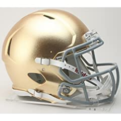 Buy NOTRE DAME FIGHTING IRISH NCAA Riddell Revolution SPEED Football Helmet (HYDROFX) by ON-FIELD