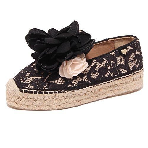 1032Q sneaker TWIN-SET SIMONA BARBIERI nero scarpa donna shoe woman [35]