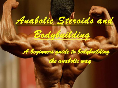 Anabolic Steroids and Bodybuilding