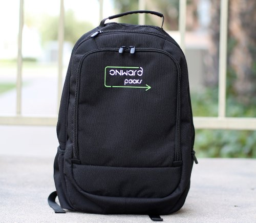 Onwardpacks Laptop And Tablet Backpack - Green - Give Towards Books