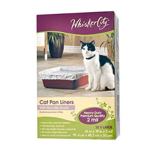 Whisker City X Large Cat Pan Liner (Whisker City Cat Pan Liners compare prices)