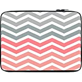 Snoogg Frequency Multicolour Soft 10 To 10.6 Inch Laptop Netbook Notebook Slipcase Sleeve