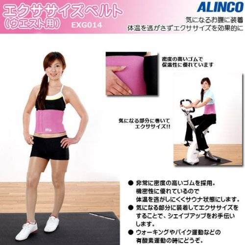 ALINCO(アルインコ) エクササイズベルト(ウエスト用) EXG014