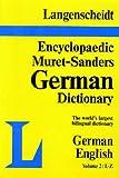 img - for Langenscheidt Muret-Sanders Encyclopedic Dictionary German/English L-Z (Muret-Sanders Encyclopedic German Dictionary, Vol. 2) book / textbook / text book