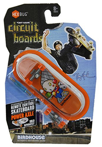 Hexbug Tony Hawk Circuit Boards Birdhouse Cartoon Wind Up Coffee Guy Design Image