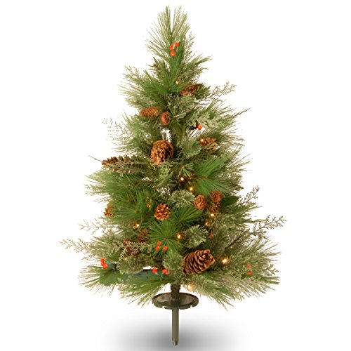 National Tree Decorative Collection White Pine Pathway Tree, 30-Inch