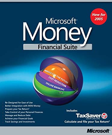 Microsoft Money Deluxe 2005 (Inc. Tax Saver Deluxe)