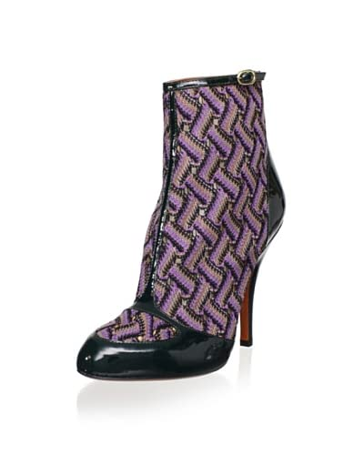 Missoni Women's Ankle Bootie  – Purple/Teal