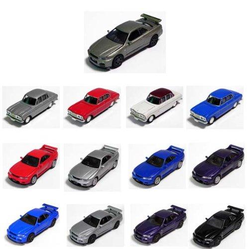 タルガ 限定 タッカー GT-R THE ENGINE2 精密ダイキャストモデルエンジン再現 1/64 シークレット入り13種フルコンプ 模型ミニカー