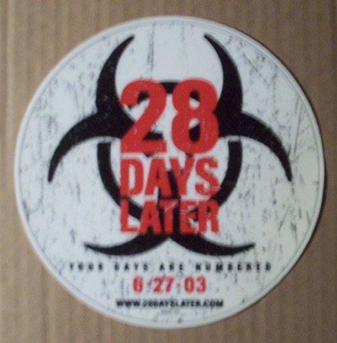 28 Days Later Sticker