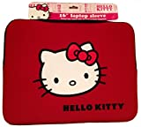 """Hello Kitty 20709N 16"""" Laptop Sleeve (Red)"""