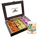 Chocholik Luxury Chocolates - Delicious Treat Of Rocks Collection With Birthday Mug