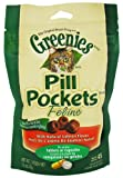 Greenies Pill Pockets for Cats, 1.6-Ounce