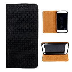 i-KitPit PU Leather Flip Case For Micromax Canvas Magnus A117 (BLACK)