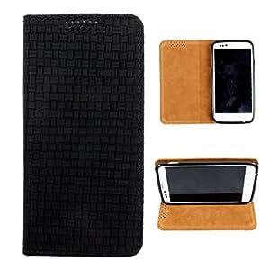 i-KitPit PU Leather Flip Case For HTC Desire V / Desire X (BLACK)