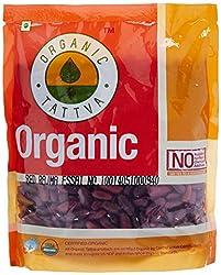 Organic Tattva Red Rajma, 500g