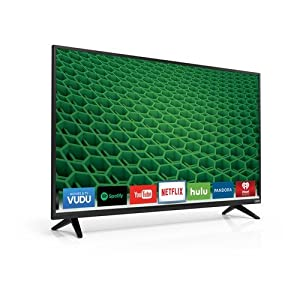 "VIZIO D39h-D0 D-Series 39"" Class 720p 120Hz Full Array LED Smart TV (Certified Refurbished)"