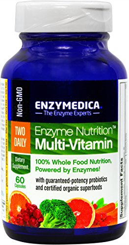 Enzyme Nutrition - Two Daily Multi-Vitamin, 100% Whole Food Nutrition, 60 Capsules (FFP) (Yeast Free Multivitamin compare prices)