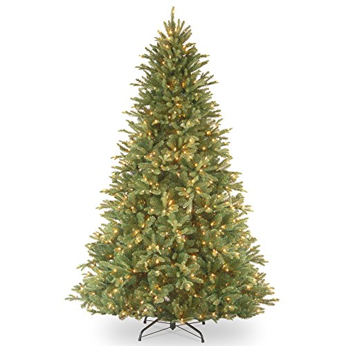 7.5' Feel Real Tiffany Fir Artificial Christmas Tree, Clear Lights (Tiffany Company compare prices)
