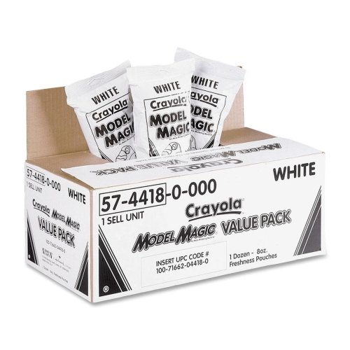 Crayola Model Magic Clay Value Pack - White