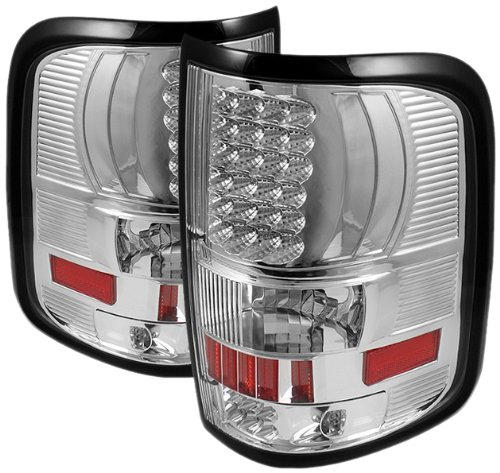 Spyder Auto Alt-On-Ff15004-Led-C Ford F150 Styleside Chrome Led Tail Light