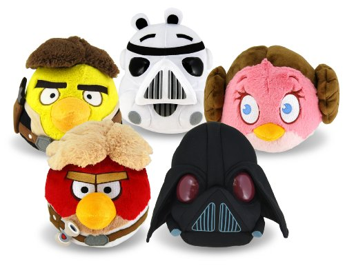 Angry Birds Star Wars 20cm Plüsch sortiert