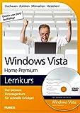 echange, troc NA - Windows Vista Home Premium Lernkurs, 1 DVD-ROM Der bessere Einsteigerkurs für schnelle Erfolge!. Zuschauen - Zuhören - Mitmac