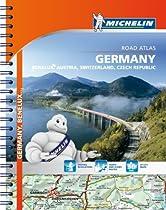 Michelin Germany/Austria/Benelux/Switzerland Atlas (Atlas (Michelin))