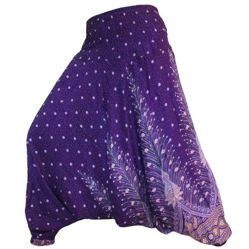 jep01-hippy-hippie-boho-festival-pavo-real-genie-aladdin-haren-pantalones-pantalones-mono-morado-mor