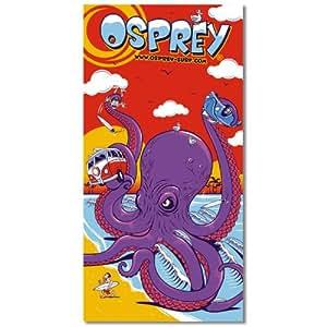 Osprey Childrens Octopus Comic Beach Towel