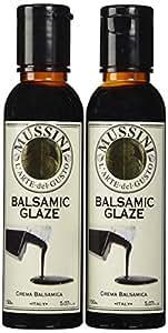 Mussini Crema, Glaze of Balsamic Vinegar of Modena, 5.07-Ounce Bottles (Pack of 2)