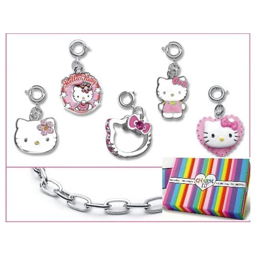 Licensed © Sanrio Hello Kitty Classic Charms & Bracelet Boxed Set