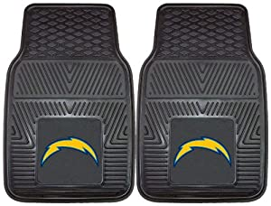 FANMATS NFL San Diego Chargers Vinyl Heavy Duty Vinyl Car Mat by Fanmats