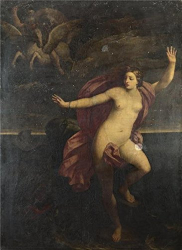 The High Quality Polyster Canvas Of Oil Painting 'After Guido Reni - Perseus And Andromeda,1635-1700' ,size: 20x27 Inch / 51x70 Cm ,this Cheap But High Quality Art Decorative Art Decorative Canvas Prints Is Fit For Game Room Decor And Home Gallery Art And Gifts