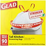 Glad Tall Kitchen Drawstring Trash Ba...