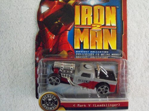 Iron Man 2 Die Cast Collection ~ Mark V (Leadslinger) - 1