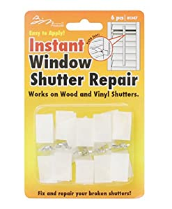 Amazon Com Instant Window Shutter Repair For Wood And