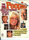 img - for December 27-January 3, 1977 People Magazine, Farrah Fawcett, The 25 Most Intriguing People of 1976 book / textbook / text book