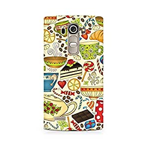 TAZindia Printed Hard Back Case Cover For LG G4