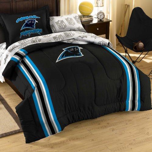 Nfl Carolina Panthers Bedding Set, Twin front-876247