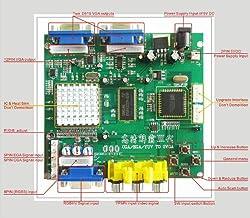 RGB/CGA/EGA/YUV to VGA Arcade Hd Video Converter Board Dual Output