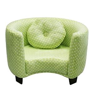 Newco+Kids Newco Kids Comfy Chair, Green Dots at Sears.com