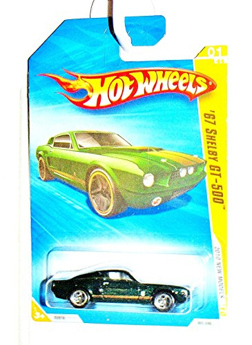 Hot Wheels '67 Shelby GT-500 #01/44, 2010 New Models. 1:64 Scale. - 1