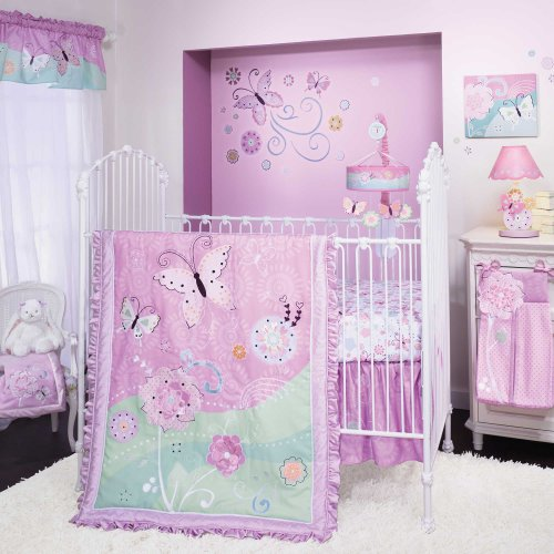 Kaleidoscope 5 Piece Baby Crib Bedding Set With Bumper By Lambs & Ivy front-1049171