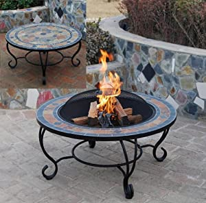 SIENNA Table amp Firepit Large Fire Bowl Garden Heater